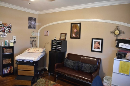 Our midwives' offices are designed with your comfort in mind.